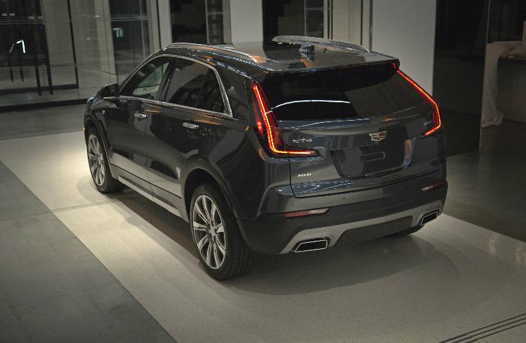 2019 Cadillac XT4 rear exterior and taillights