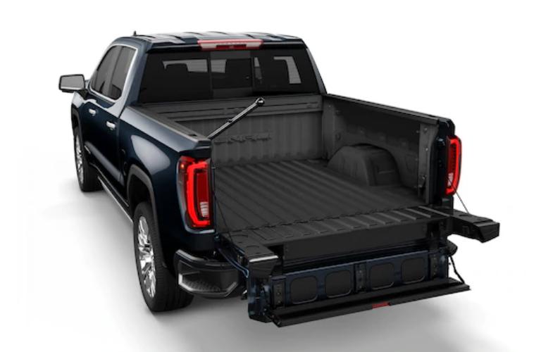 2019-GMC-Sierra-MultiPro-Tailgate-in-full-width-step-mode ...