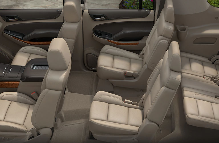 2019 Chevy Suburban Passenger Capacity and Interior Features