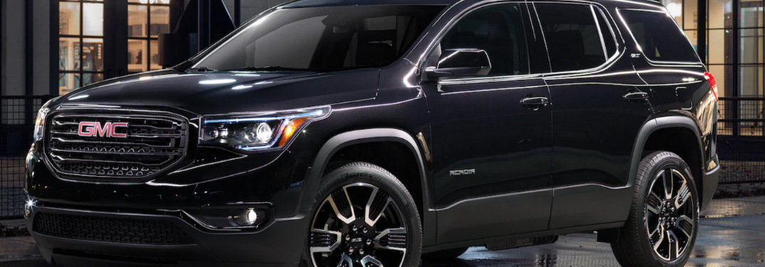 2019 GMC Acadia exterior front and side profile