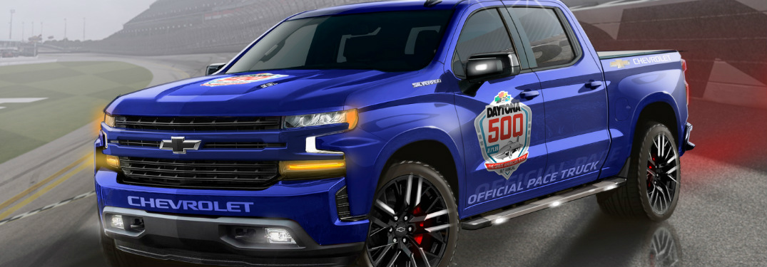 2019 Chevy Silverado pace truck for the 2019 Daytona 500