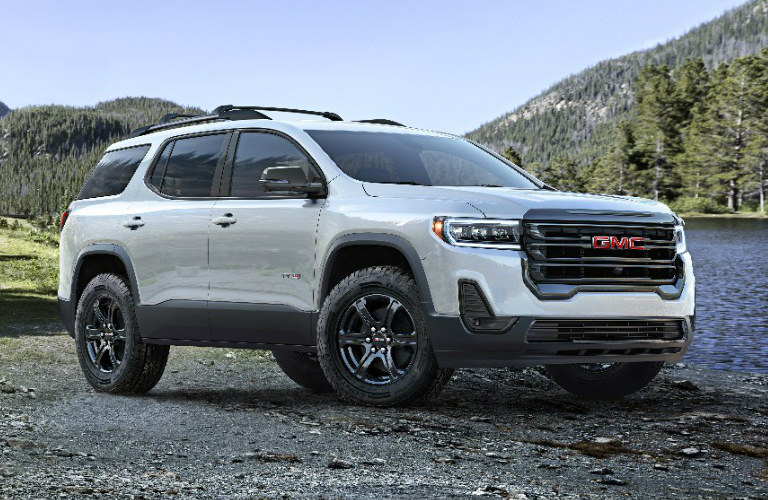2020 GMC Acadia exterior in white