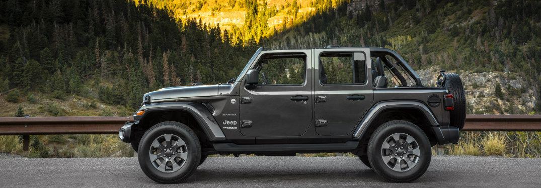 2019 Jeep Wrangler Sahara side profile