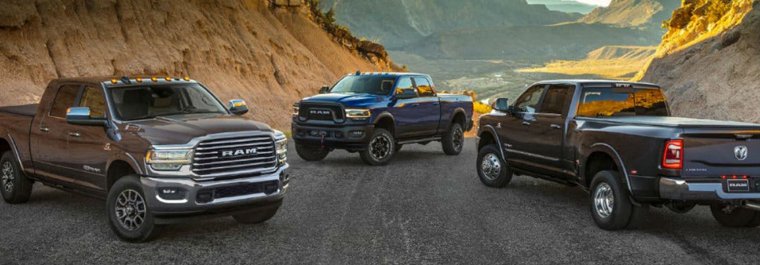 2020 Ram 2500 offers variety of bed lengths that carry serious cargo volume and payload capacities
