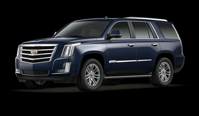 2020 Cadillac Escalade Interior and Exterior Color Options