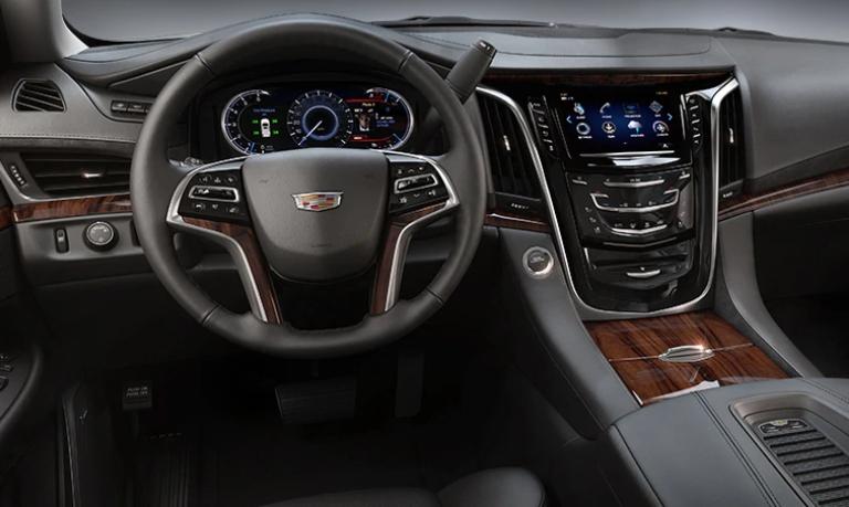2020 Cadillac Escalade Luxury Jet Black Leather Interior