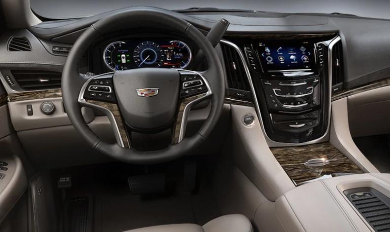 2020 Cadillac Escalade Luxury Shale Leather Interior