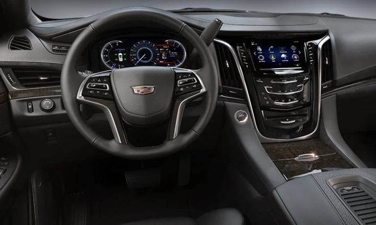 2020 Cadillac Escalade Platinum Jet Black Leather Interior
