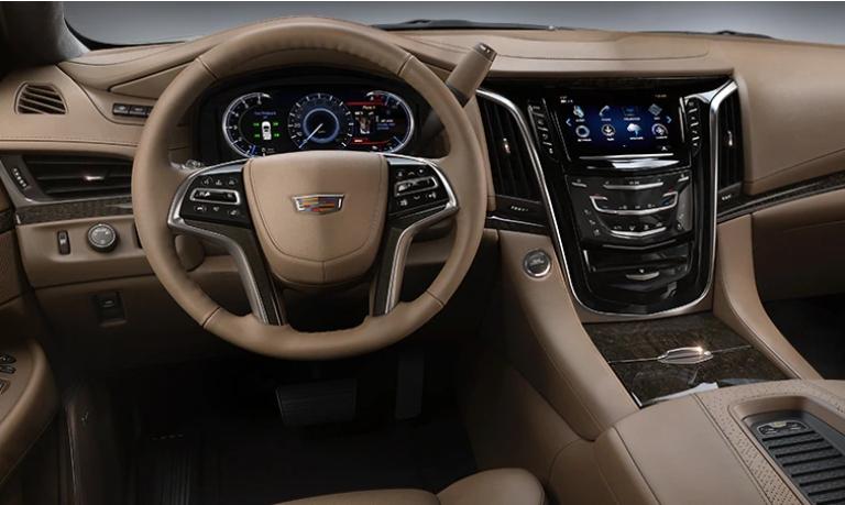 2020 Cadillac Escalade Platinum Maple Sugar Leather Interior