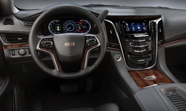 2020 Cadillac Escalade Premium Luxury Jet Black Leather Interior
