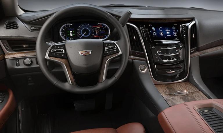 2020 Cadillac Escalade Premium Luxury Kona Brown Leather Interior