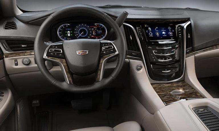 2020 Cadillac Escalade Shale Leather Interior