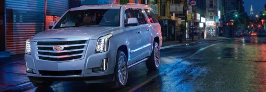 2020 Cadillac Escalade on the side of the road