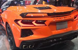 2020 Chevrolet Corvette back end