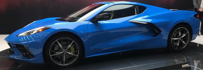 2020 Chevrolet Corvette profile view