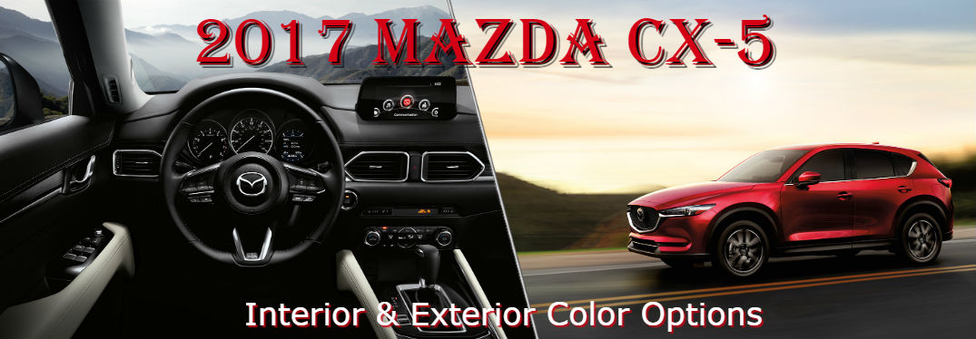 Available 2017 Mazda CX-5 color options