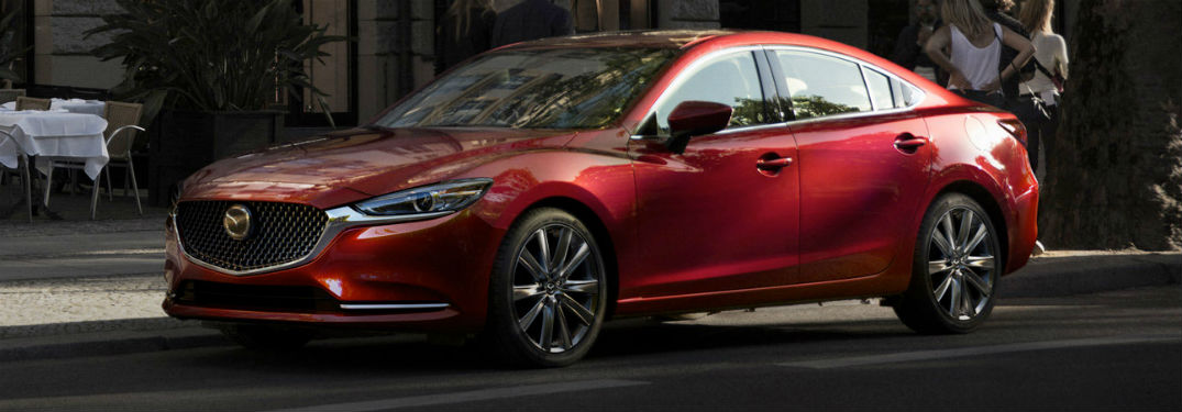 What is the safety rating for the 2018 Mazda6?