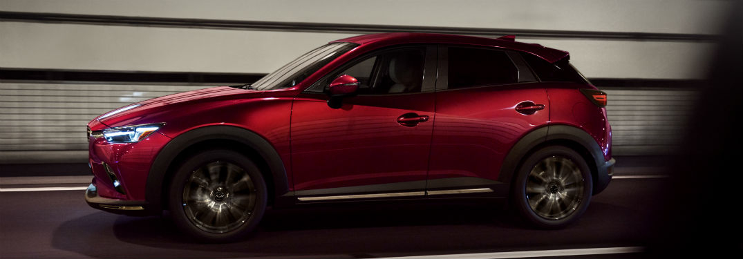 What's new with the interior & exterior design of the 2019 Mazda CX-3?