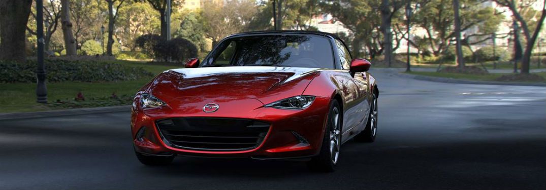 2019 Mazda MX-5 Miata exterior front fascia and drivers side