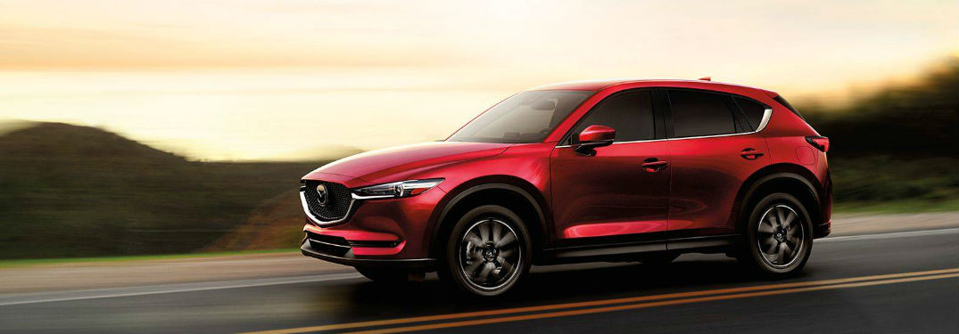 2018 Mazda CX-5 driving on a road