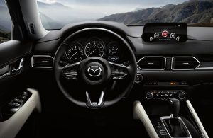 2018 Mazda CX-5 interior dashboard features