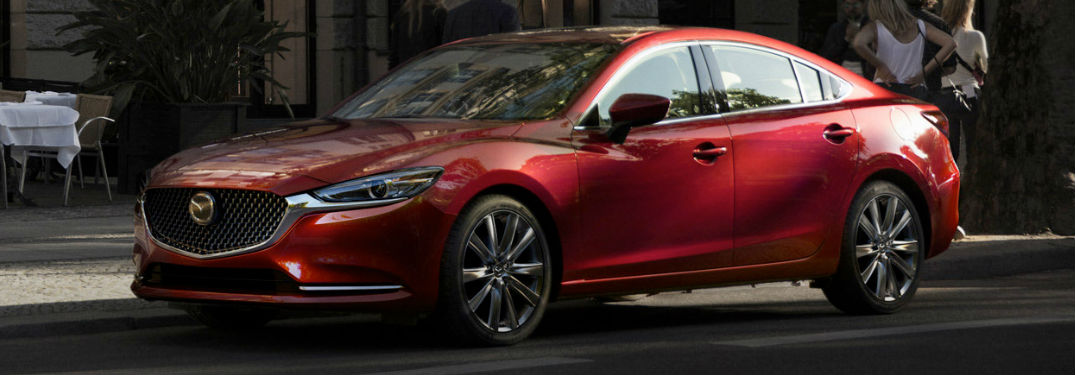 Mazda6 side profile