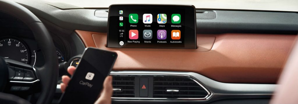 mazda connect system with apple carplay vic bailey mazda. Black Bedroom Furniture Sets. Home Design Ideas