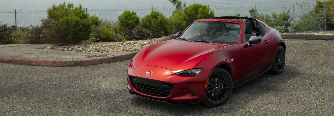 2019 Mazda MX-5 Miata parked on a street