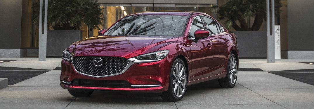 2019 Mazda6 parked in a driveway