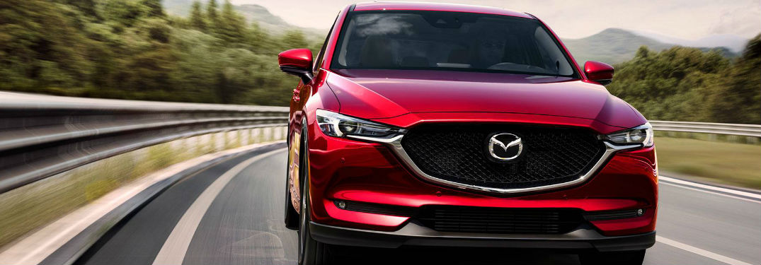 2019 Mazda CX-5 front profile