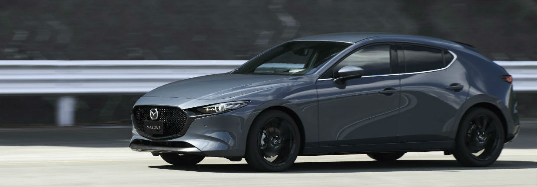 6 exterior paint color options available when buying a new 2019 Mazda3 Hatchback