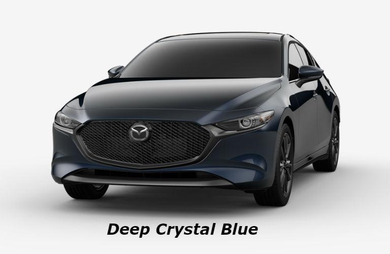 2019 Mazda3 Hatchback Deep Crystal Blue color option