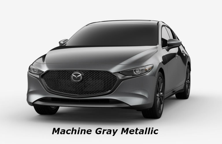 2019 Mazda3 HatchbackMachine Gray Metallic color option