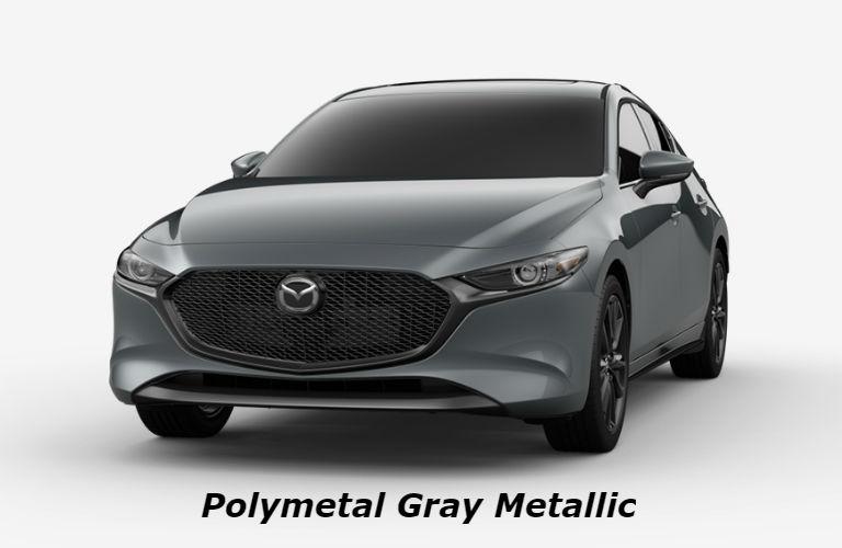2019 Mazda3 Hatchback Polymetal Gray Metallic color option