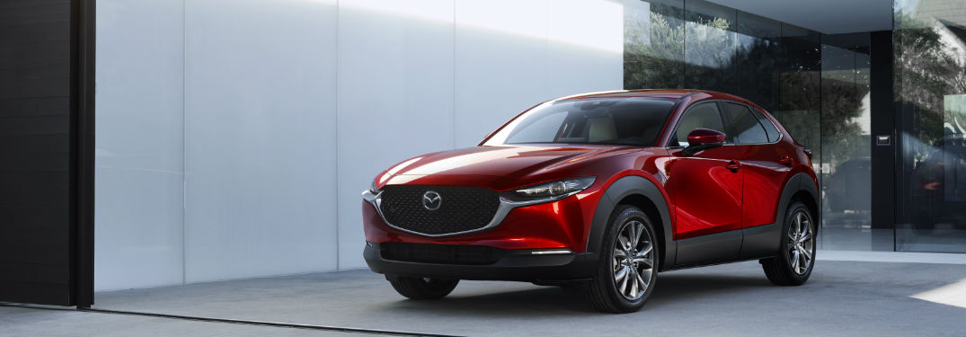 2020 Mazda CX-30 parked in a driveway