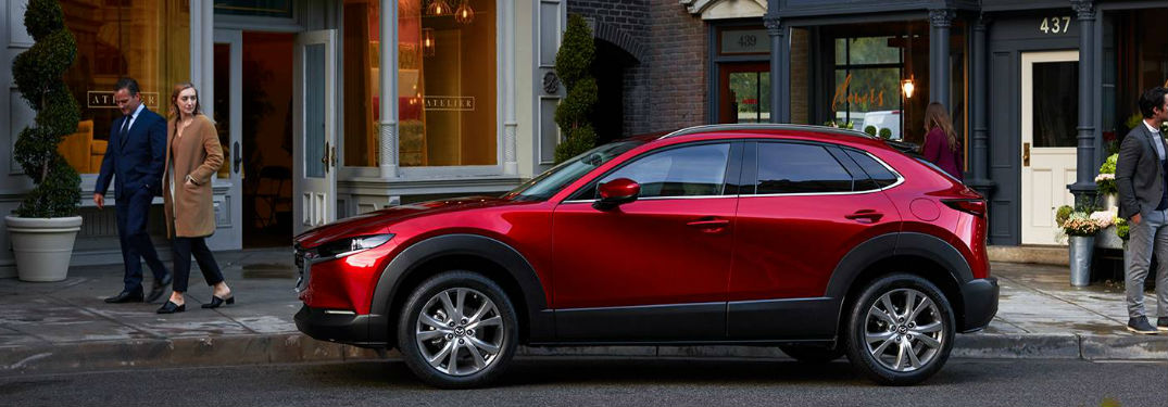 2020 Mazda CX-30 parked on a street