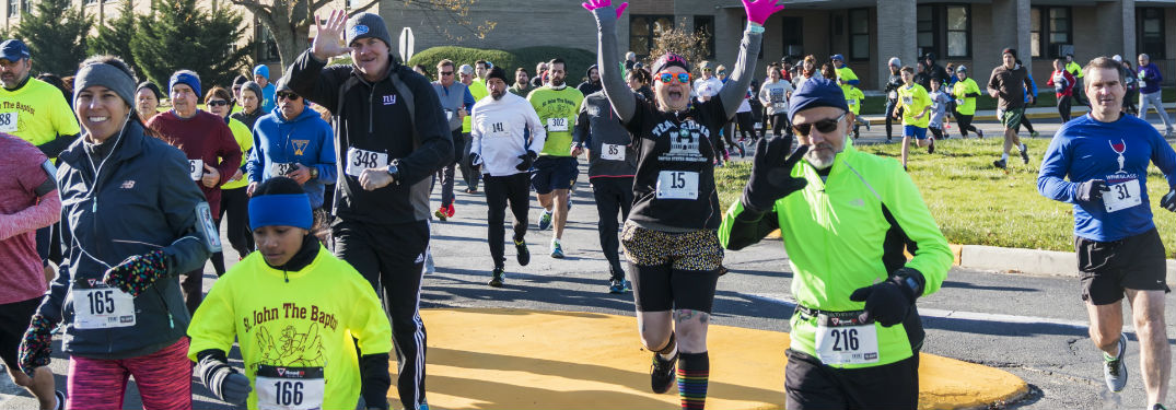 Runners prepare for 15th Annual 2019 Turkey Trot in Spartanburg, SC