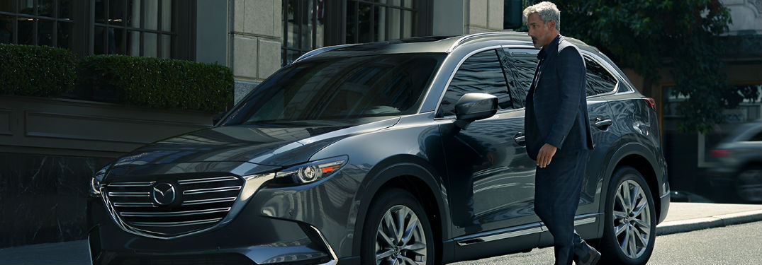 Many exterior paint color options to choose from when buying a new 2020 Mazda CX-9 crossover SUV
