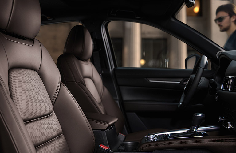 2020 Mazda CX-5 front leather seats