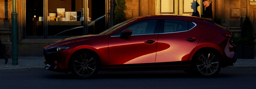 What colors does the 2020 Mazda3 Hatchback come in?