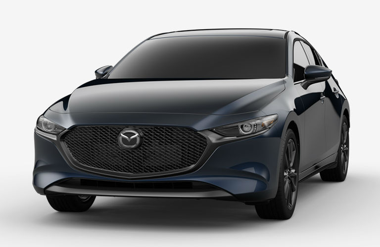 2020 Mazda3 Hatchback Deep Crystal Blue Mica