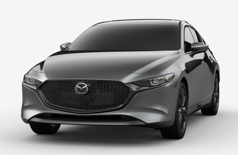 2020 Mazda3 Hatchback Machine Gray Metallic