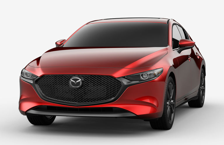 2020 Mazda3 Hatchback Soul Red Crystal Metallic