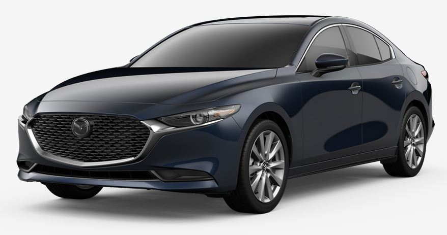 2020 Mazda3 Sedan Deep Crystal Blue Mica