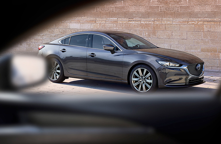 2020 Mazda6 parked on a street