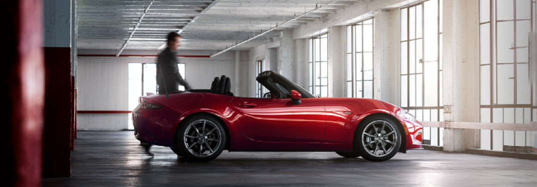 2020 Mazda MX-5 Miata convertible available in 6 color options