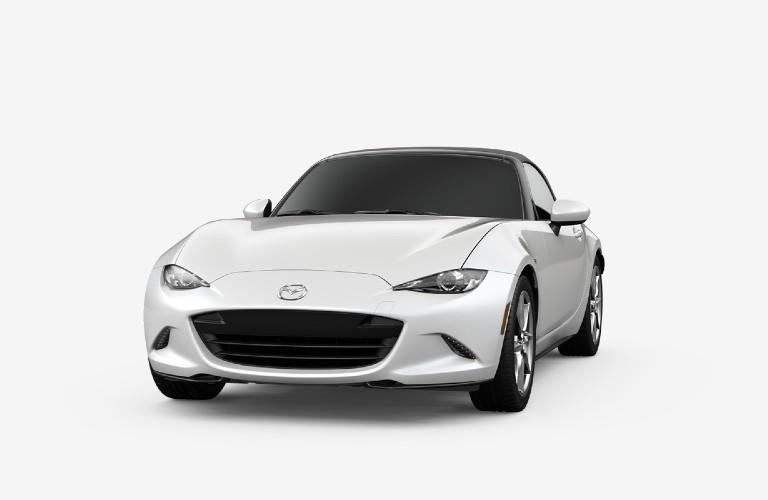 2020 Mazda MX-5 Miata Snowflake White Pearl Mica