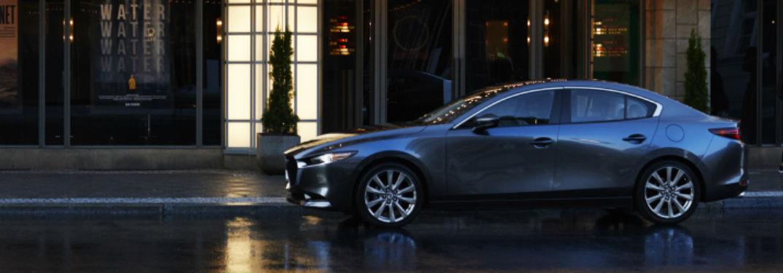 2020 Mazda3 Sedan side profile