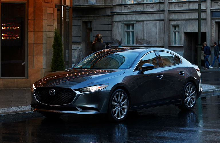 2020 Mazda3 Sedan front and side profile