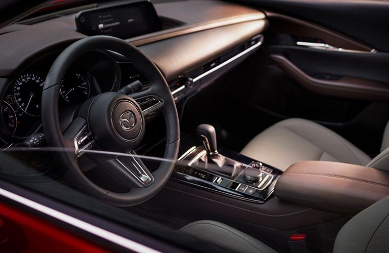 2020 Mazda CX-30 front interior